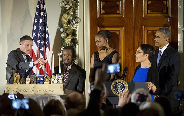 Barack Obama, Michelle Obama, Angela Buchdahl, Adam Levine, Ataklit Tesfaye